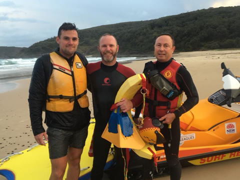 Trapped Caver Rescued At Snapper Point