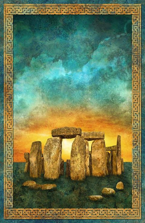 Stonehenge Gradations at Cary Quilting