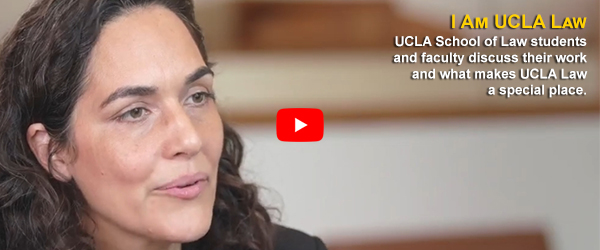 Video still from I Am UCLA Law with Jennifer Chacón