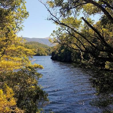 The view at hidden lakes.