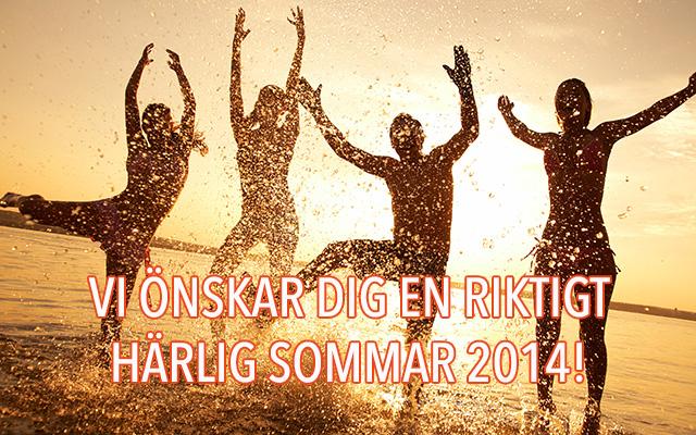 Vi önskar dig en härlig sommar 2014