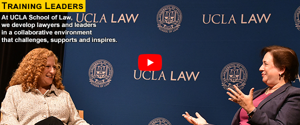 Training Leaders at UCLA Law - View the video