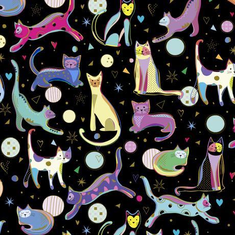 Cat Fabric