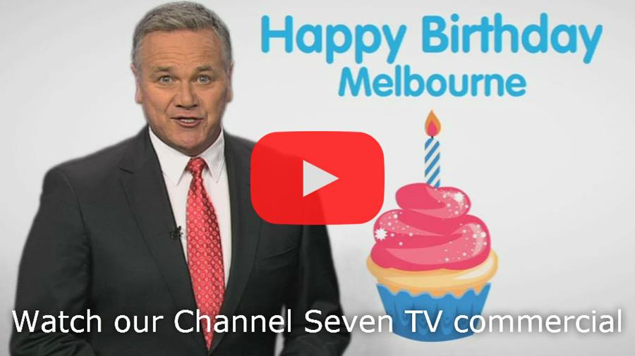 Watch the Melbourne Day Channel Seven TV commercial