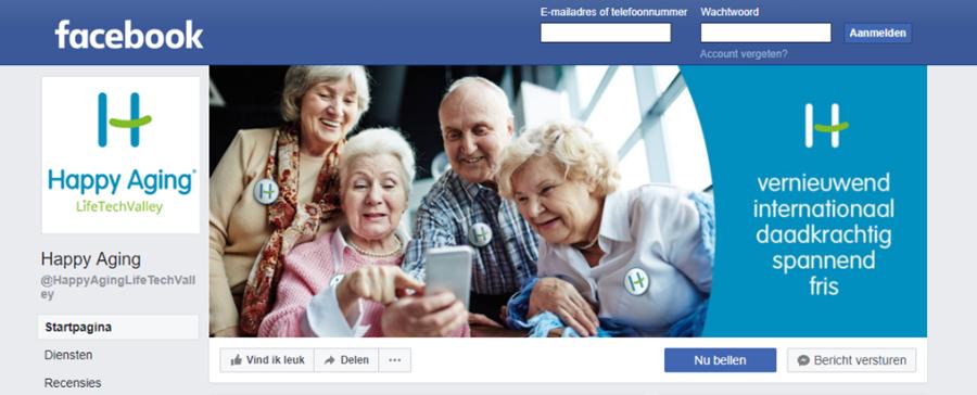 Facebook Happy Aging