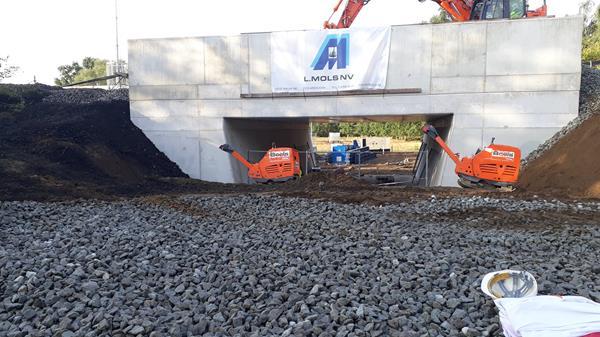 Fietstunnel aan Koulaak