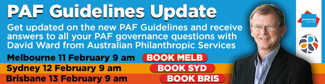 PAF Guidelines Update