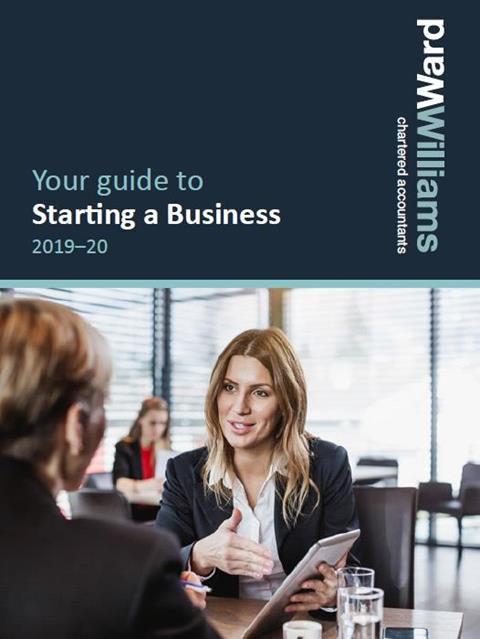 Ward Wiilliams Starting a Business Guide 2019 - 20