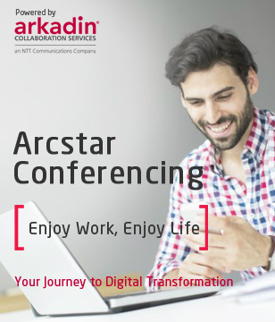 Arcstar Conferencing (powered by Arkadin)
