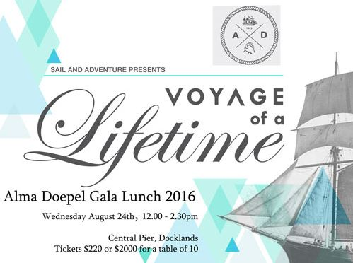 Alma Doepel fundraising lunch