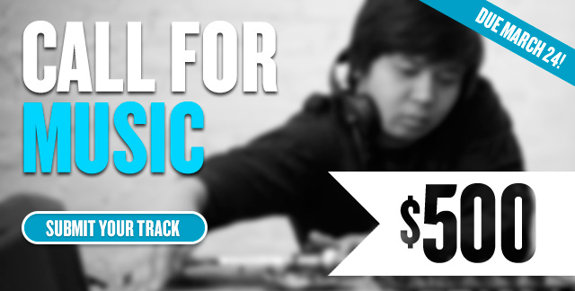 Click to submit your 30-second track to CAR