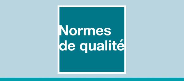 Logo : Normes de qualité