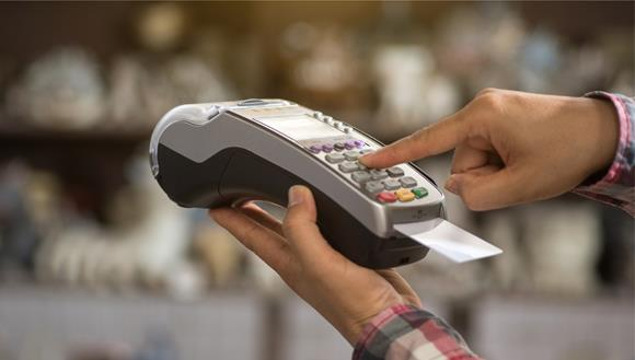 EFTPOS machine