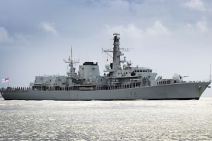 The Type 23 frigate HMS Sutherland will deploy to Australia in the New Year. Credit: UK MoD