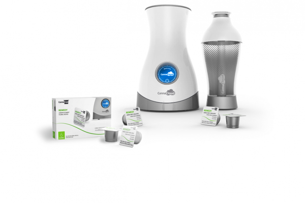 A KEURIG FOR CANNABIS: POD GOES IN, VAPOR COMES OUT