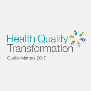Logo for Health Quality Transformation: Quality Matters 2017