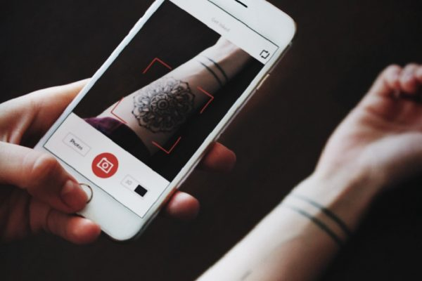 NOW YOU CAN LIVE PREVIEW TATTOOS ON YOUR SKIN WITH YOUR SMARTPHONE