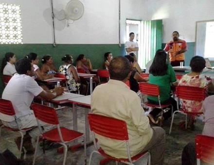 palestra em Palmares, PE