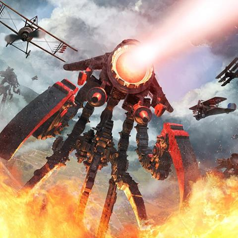 Tripods and Triplanes Artwork