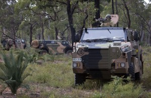 Bisalloy provided the armour plate for Army's Bushmaster PMVs. Credit: Defence
