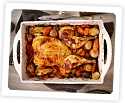 Photo of: Rubbed Flattened Roast Chicken
