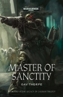 Cover of Master of Sanctity by Gav Thorpe, published by Black Library
