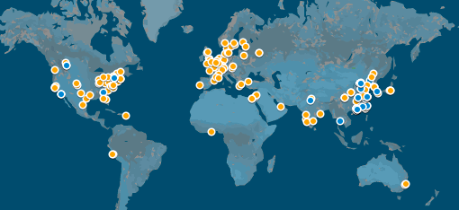 img: iGEM 2020 Team Map