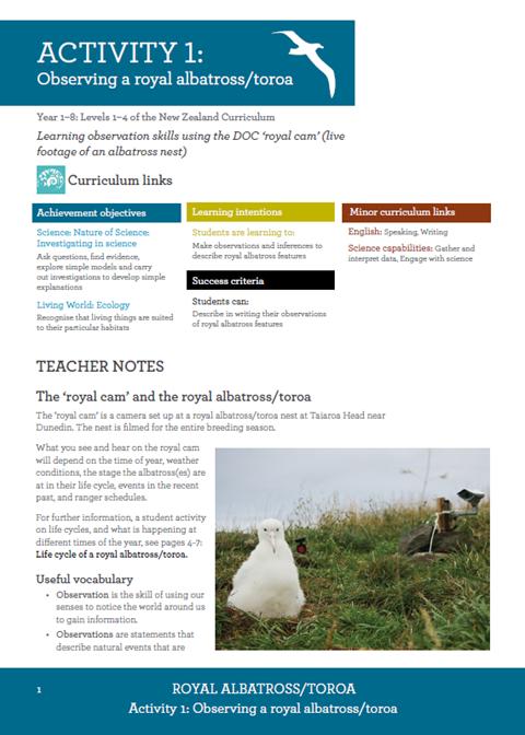 Royal Albatross Resource