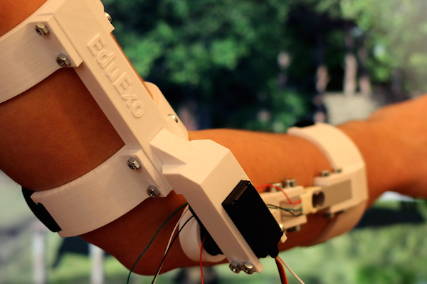 AN ELBOW EXOSKELETON YOU CAN BUILD AND PROGRAM YOURSELF