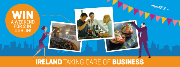Ireland Taking Care of Business Competition banner