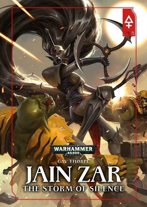 Cover of Jain Zar by Gav Thorpe