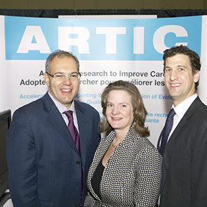 Photo de participants à la conférence ARTIC.