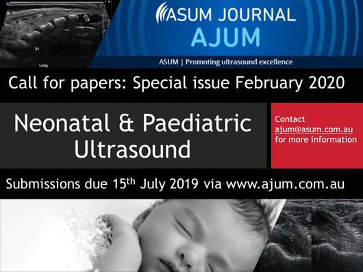Paediatric & Neonatal Ultrasound special issue