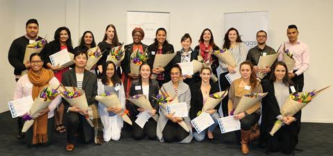 Health scholarship winners
