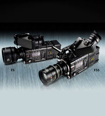 Sony PMW-F5 and PMW-F55