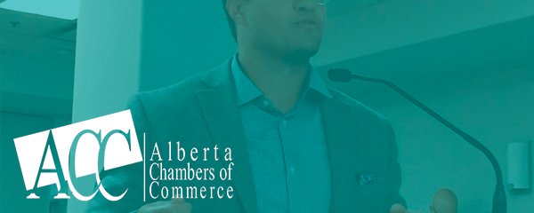 Advocating at the 2018 Alberta Chambers of Commerce AGM