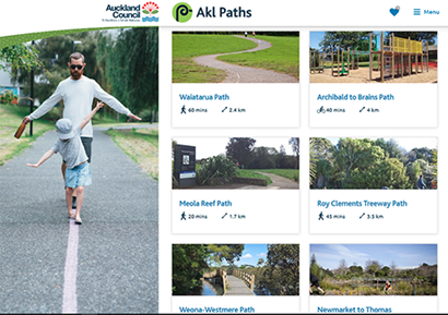 Check out the new Akl Paths website!