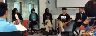 Participants of the diversity panel at AUT