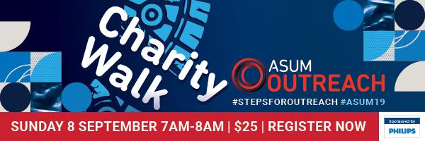 ASUM #StepsForOutreach Charity Walk, Melbourne