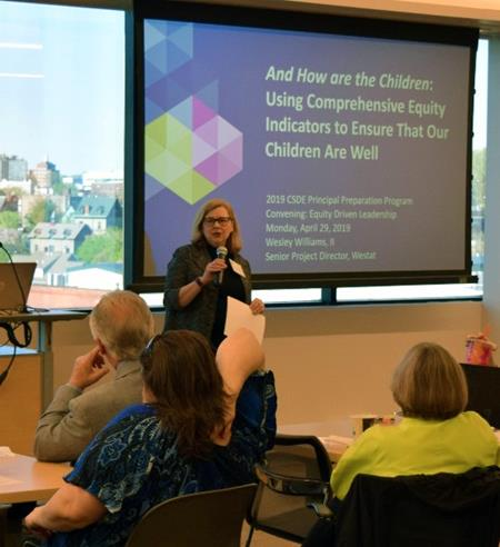 Commissioner Wentzell welcomes Higher Education Faculty and Pre-K-12 Administrators to an April 29th Convening focused on Equity-Driven Leadership