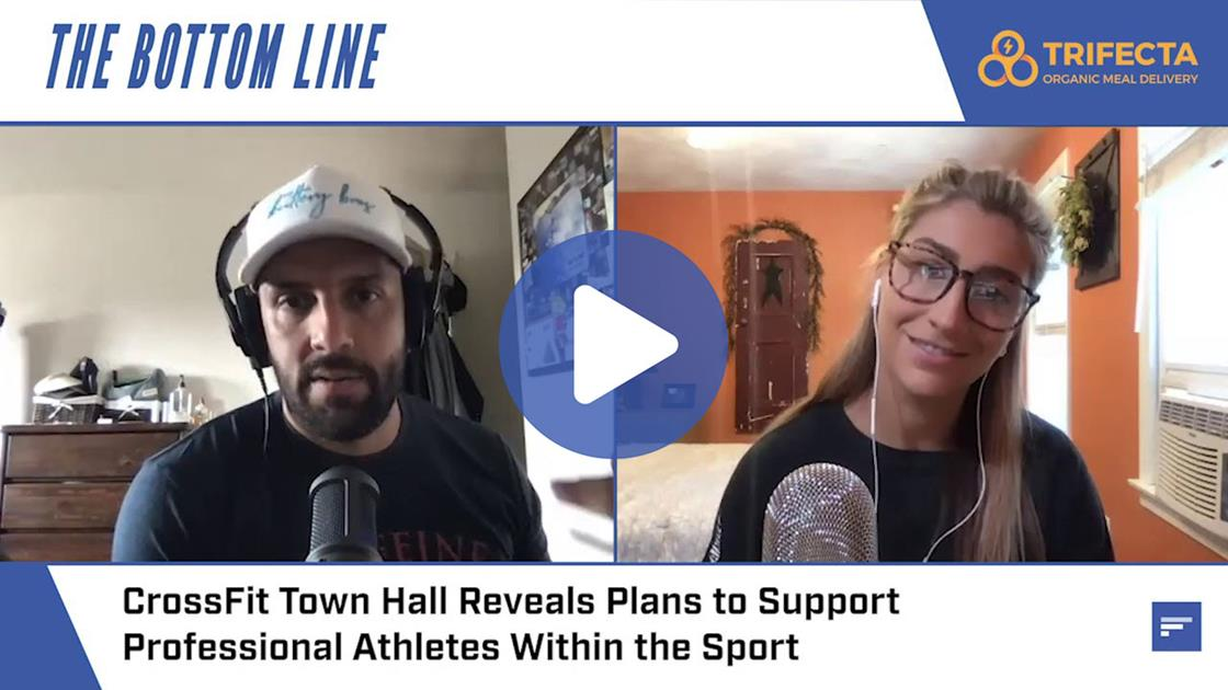 CrossFit Town Hall Reveals Plans to Support Professional Athletes, Increase Media