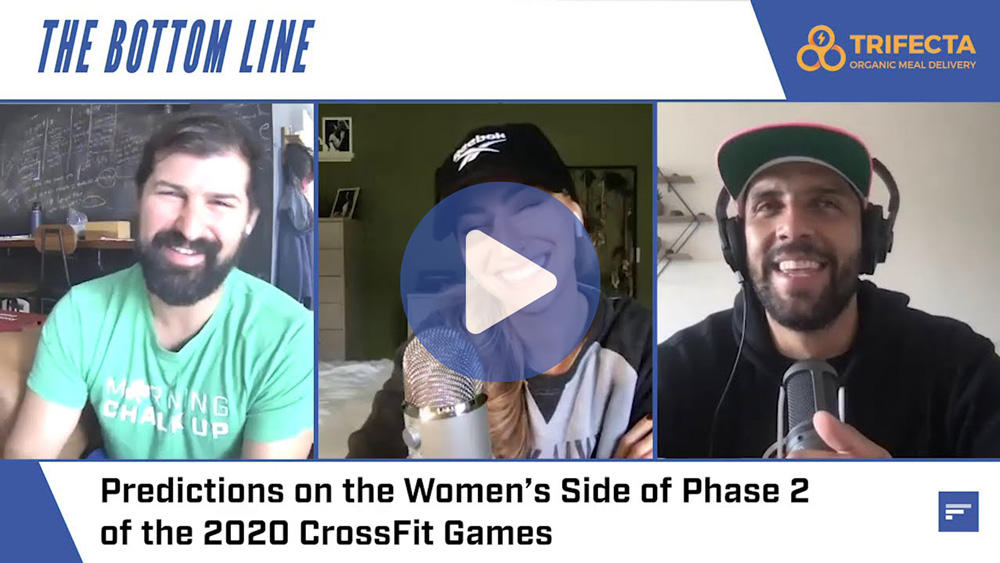 Predictions on the Women's Side of Phase 2 of the 2020 CrossFit Games