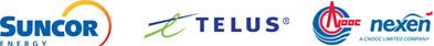 Suncor, TELUS and Nexen Energy, a CNOOC Limited
