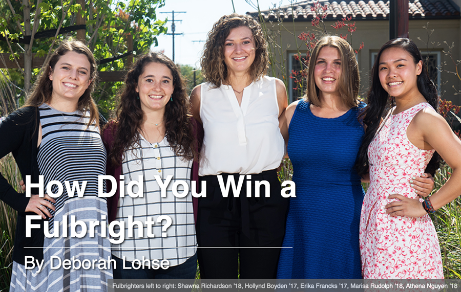 How Did You Win a Fulbright?