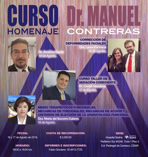 Curso Homenaje Dr. Manuel Contreras