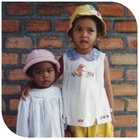 Nari and her big sister