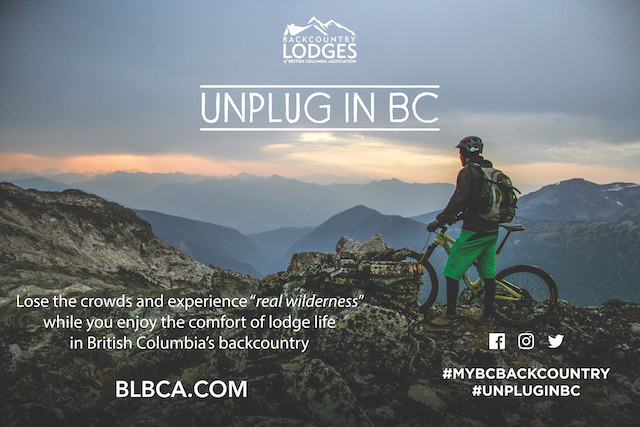 Unplug in BC at BLBCA.com
