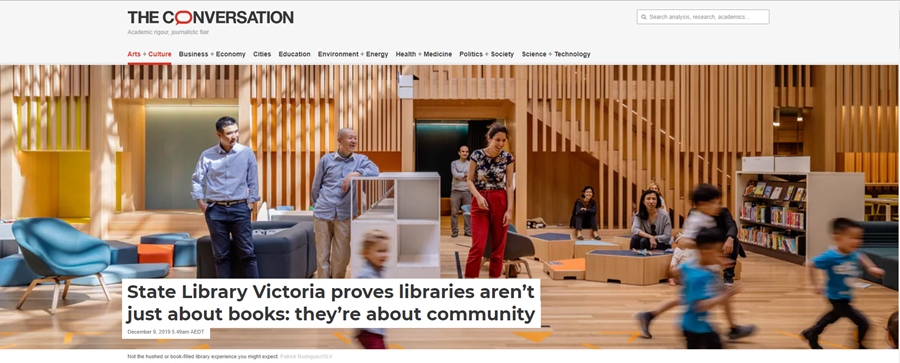 Public libraries for community
