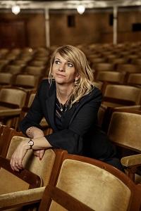 Teaterdirektør Trine Holm Thomsen. Foto Isak Hoffmeyer
