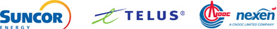 Suncor, TELUS, Nexen Energy, A CNOOC Limited Company